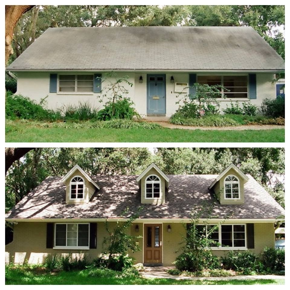 Home Exterior Makeover: Ranch Home Reno: Fort Collins Facades