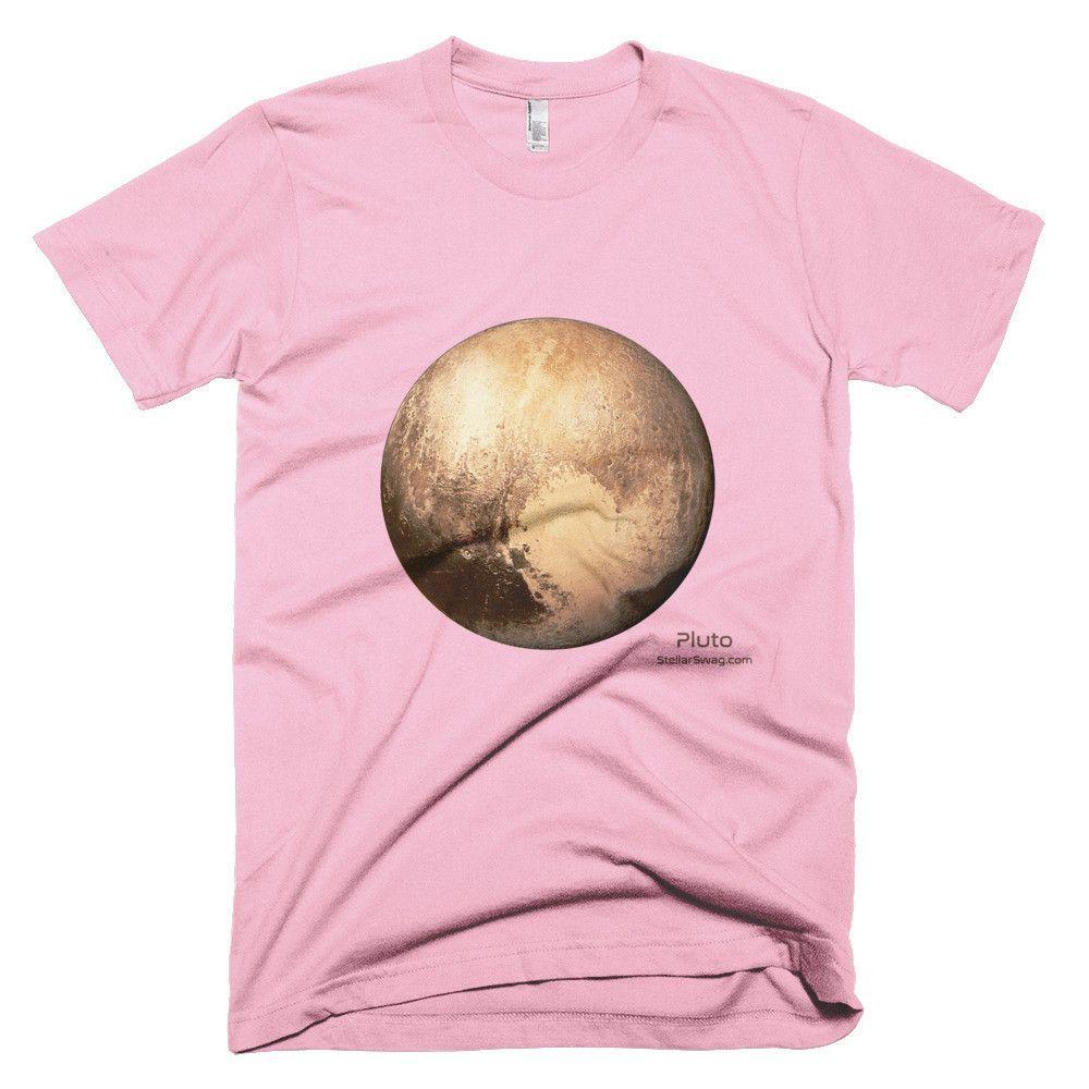 Pluto Short Sleeve Men's/ Unisex T-Shirt