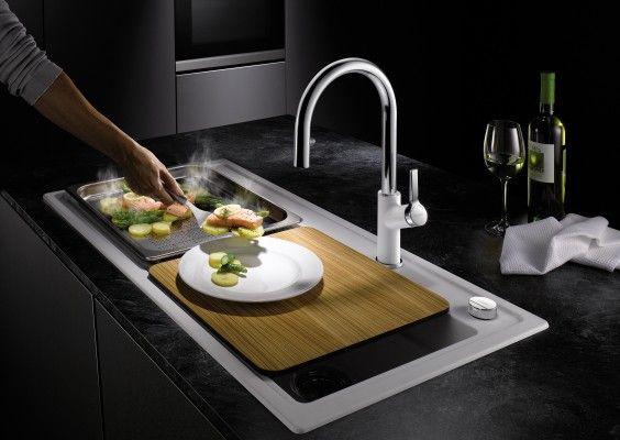 BLANCO hat die Dampfgar-Spülen und das Zubehör! wohnendaily Kochen - spülbecken küche keramik