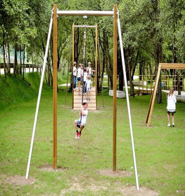 GALOPIN - Natura: Zip Line (XVHX001) | Zip line backyard ...