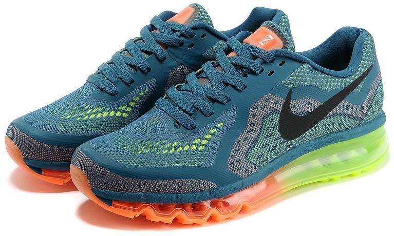 save off d2a9e 786a2 Black Orange Green Blue Air Max 20140