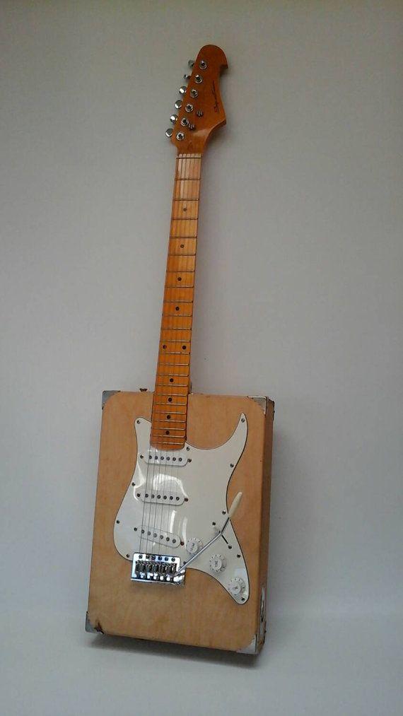 Artist S Box Electric Guitar With Whammy Bar Gigar Box Guitar