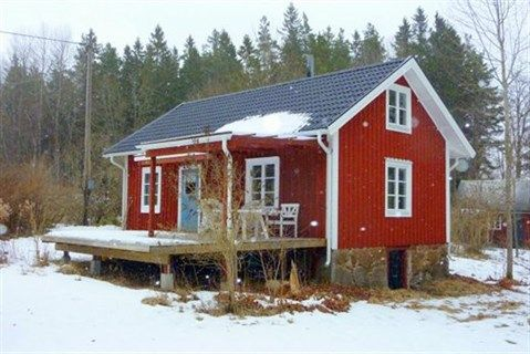 Holmahult 28 - Idyllisk indrettet torp ved skov med søer ved Tingsryd, Sverige #fritidshus #sommerhus #sverige #selvsalg #boligsalg