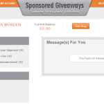 Check Out Sponsored Giveaways for Bloggers! Earn money hosting giveaways