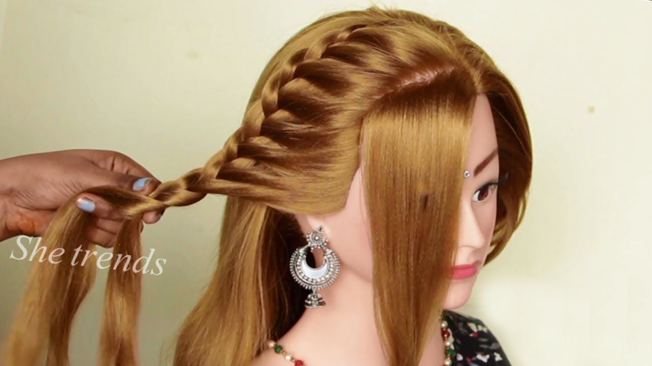 Different Wedding Party Hairstyles Ideas 2019 Hairstyle Girl Easy B In 2020 Wedding Party Hairstyles Easy And Beautiful Hairstyles Girl Hairstyles