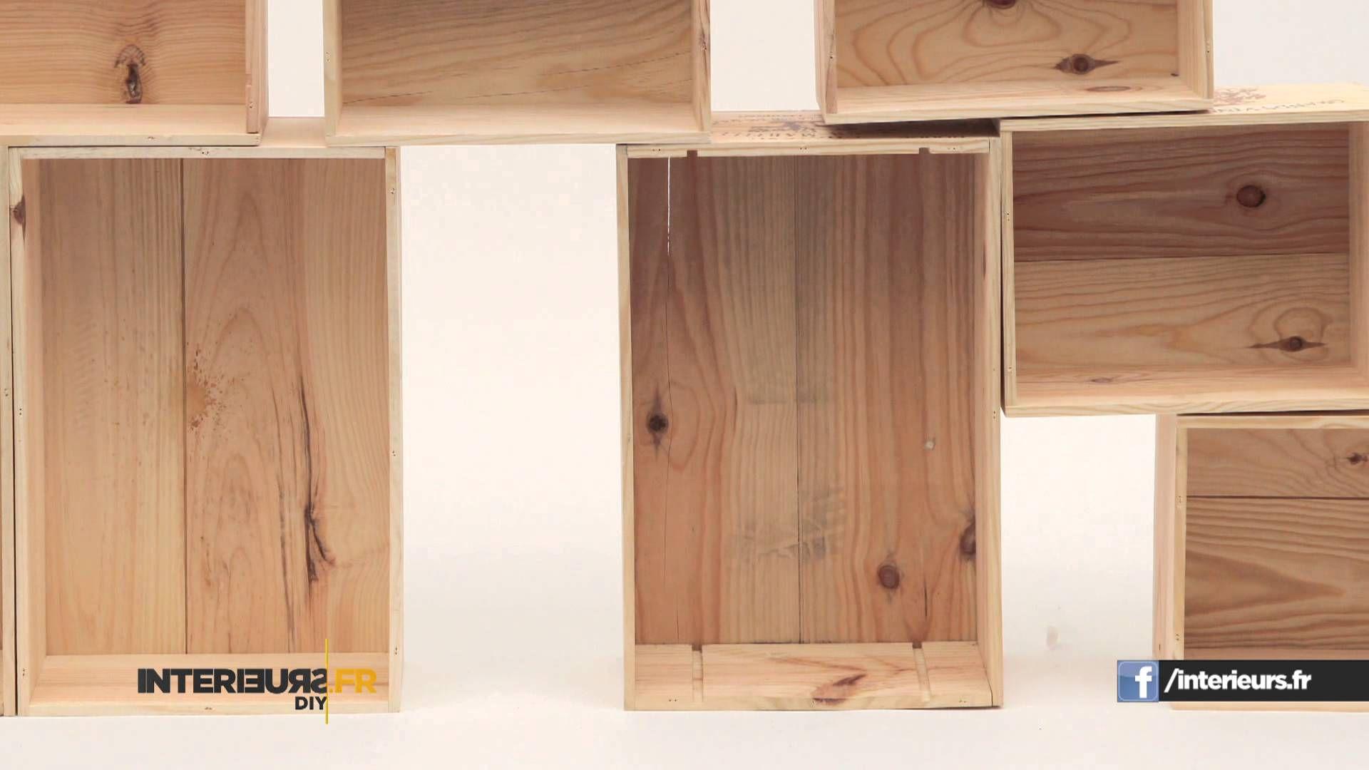 #DIY #rangement #livres Comment Fabriquer Vos étagères ? Bois, Carton, .