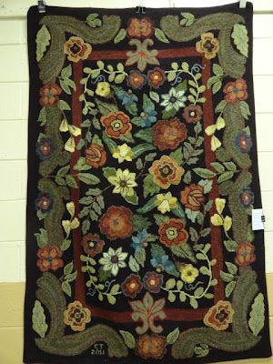 From Lauren S Rugs And Pugs Blog This Rug Was Displayed At A Hook In