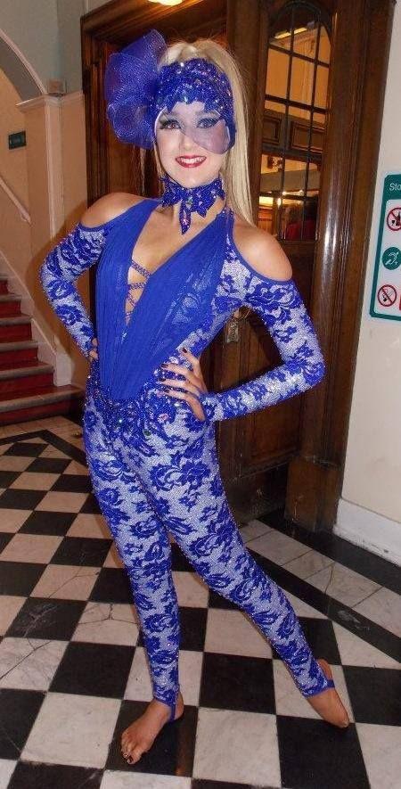 Freestyle dance girl dresses