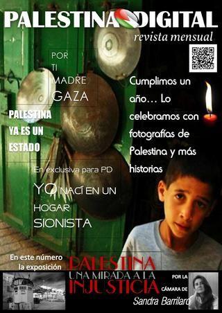 Revista PALESTINA DIGITAL - Diciembre 2012