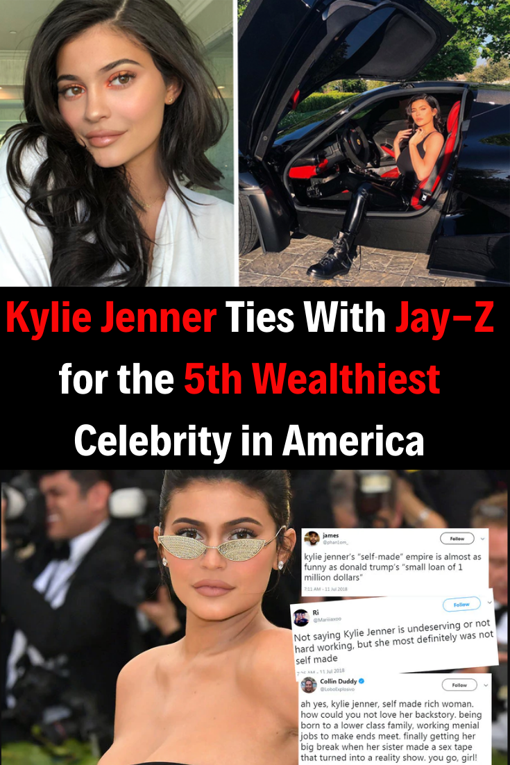 Kylie Jenner Ties With JayZ for the 5th Wealthiest Celebrity in America is part of Mr bean funny - The part about this that gives me whiplash is that Jenner is 21 and JayZ is a 49yearold artist whose prolific career spans decades