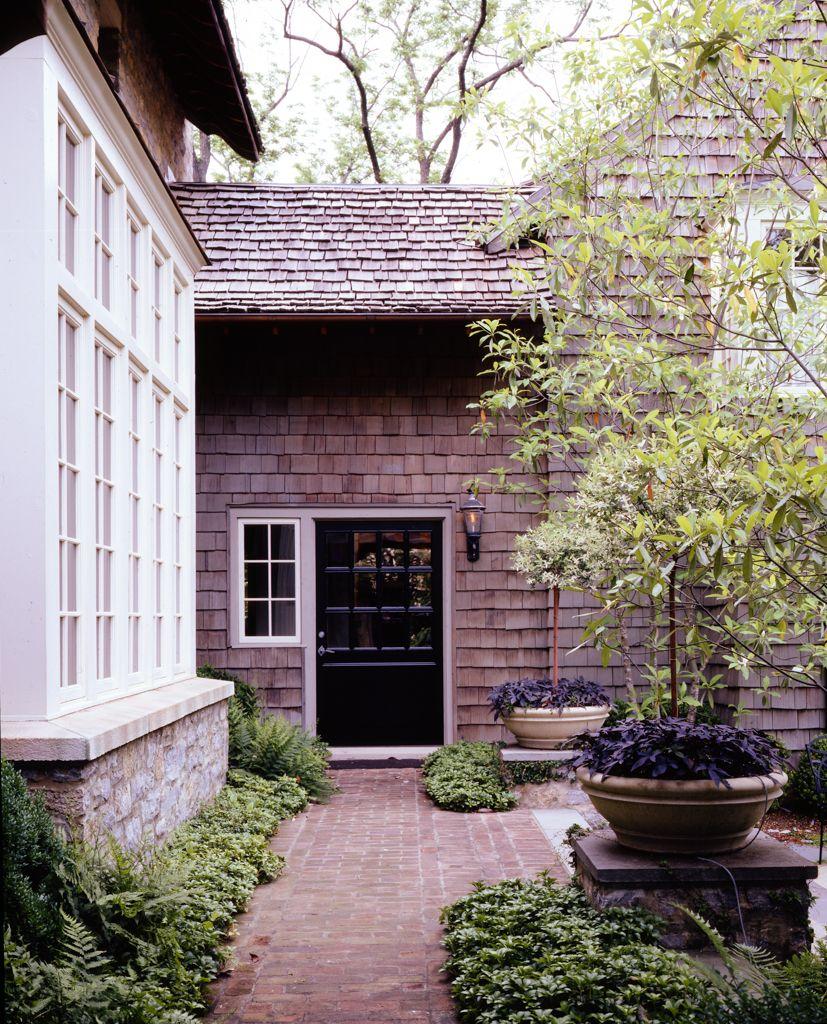 Outside window treatment ideas  mcalpine tankersley architecture nashville artist cottage  mcalpine