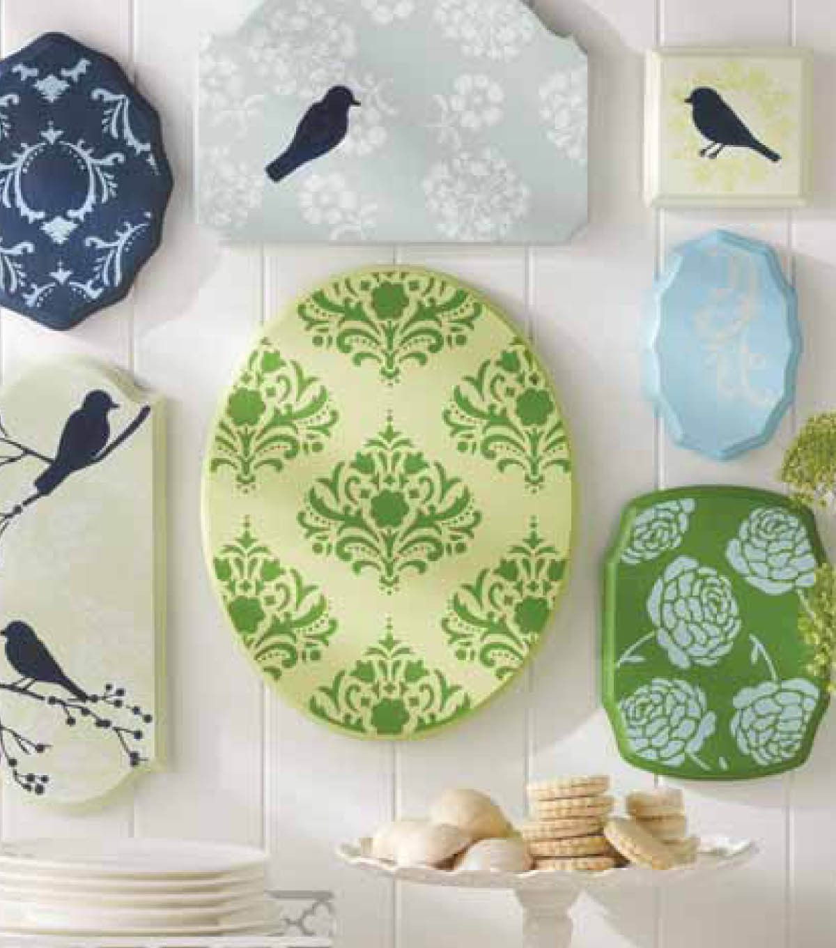 Gorgeous! Are you ready to decorate? LOVE these plaques! @Martha ...