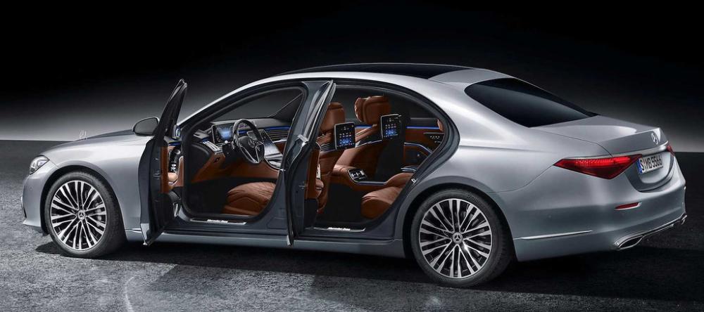 2021 Mercedes Benz S Class Rear 2 Mercedes S Class Benz S Class Benz S