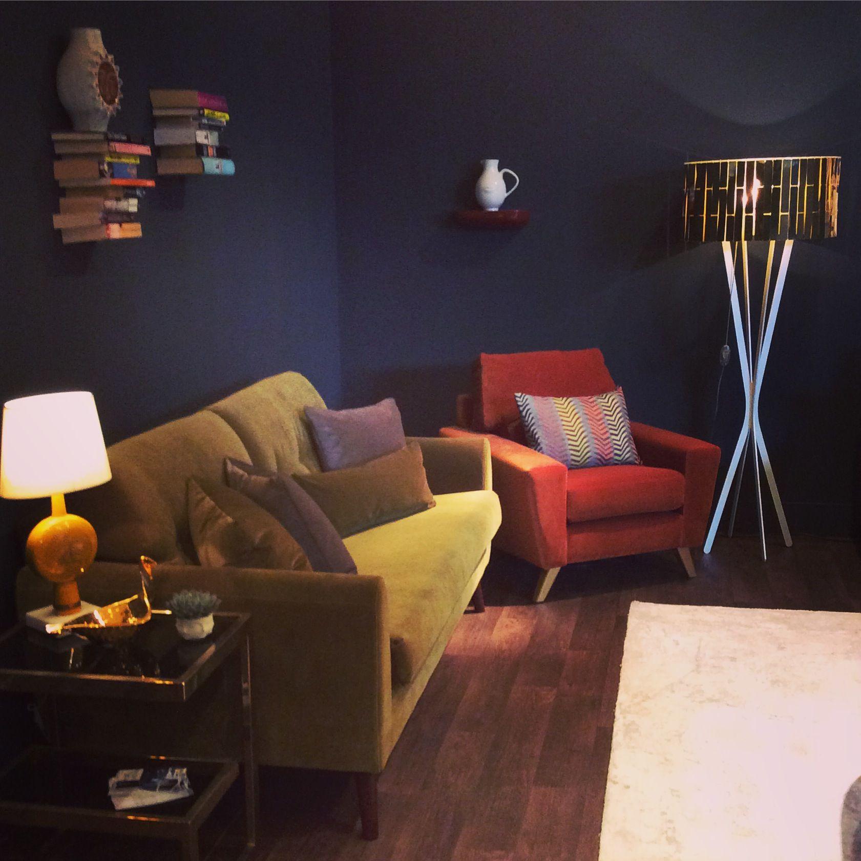 Pin By Abhijay Janu On Homes: The G Plan Vintage Sixty Three Large Sofa In Matt Velvet