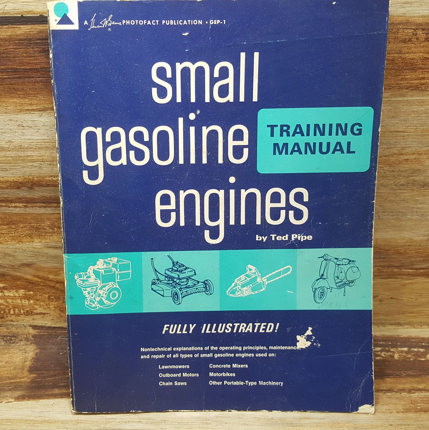 small gasoline engines 1966 training manual vintage car etsy gasoline engine vintage cars engineering pinterest
