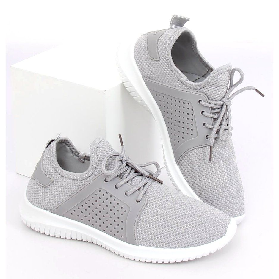 Buty Sportowe Szare 7758 Y Grey Sneakers Adidas Tubular Shoes