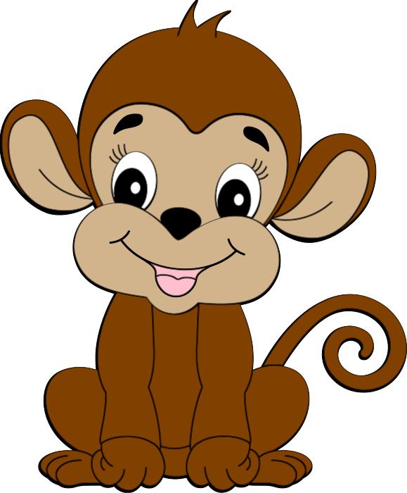 Cute Monkey Free Svg Cute Baby Monkey Animal Illustration Art Cartoon Monkey