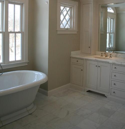 Straight Layout 12x12 Carrara Marble Floors Google Search Av Master Bath Pinterest