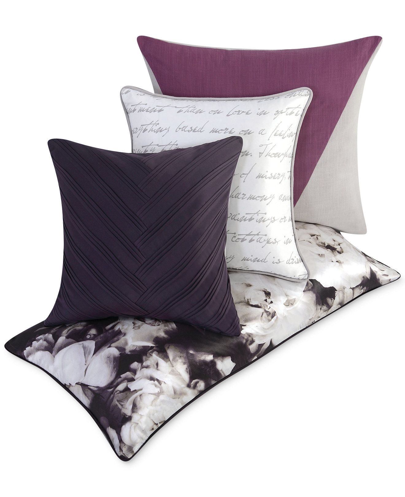 Vince Camuto Home Provence Decorative Pillow Collection