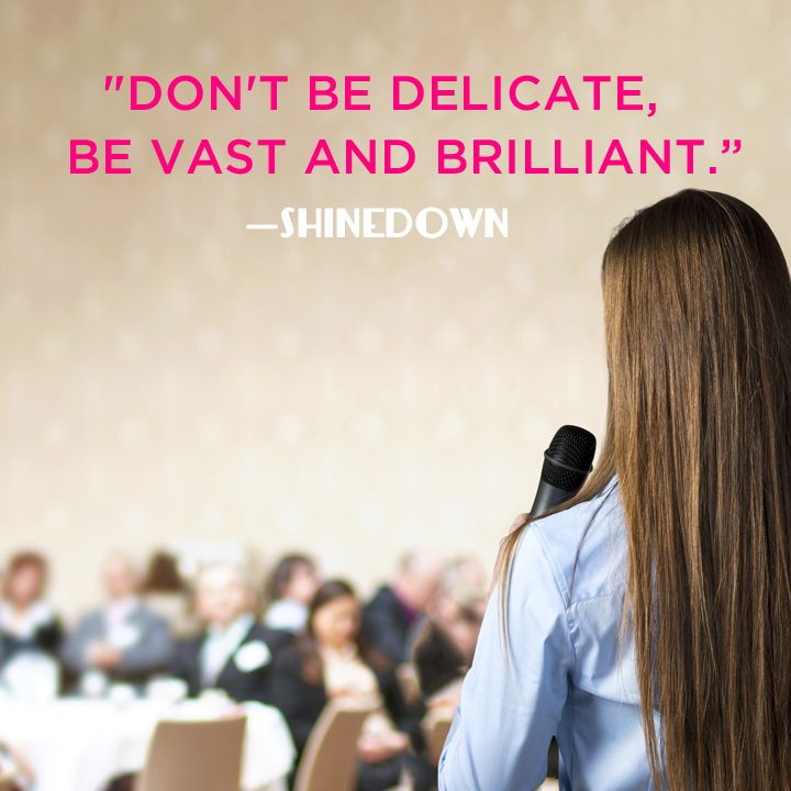 Don T Be Delicate Be Vast And Brilliant Shinedown