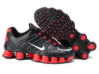 chaussures nike shox tl homme (noir/rouge) pas cher en ligne. | Black nike  shoes, Nike shox shoes, Nike shoxPinterest