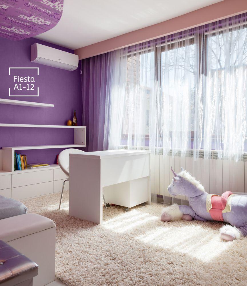 Una fiesta en tu habitaci n en donde la estrella ser s tu - Decoraciones de paredes pintadas ...