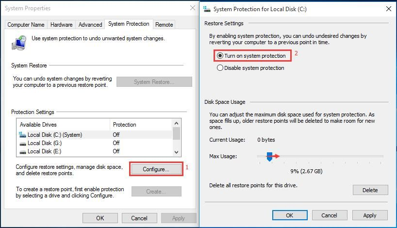 How To Restore Computer To Earlier Date In Win10 8 7 2 Ways System Restore Restoration System
