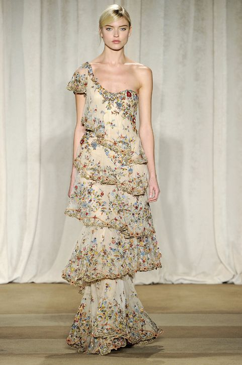 8 Gorgeous Gowns to Swoon Over from Marchesa Fall 2013 #gorgeousgowns