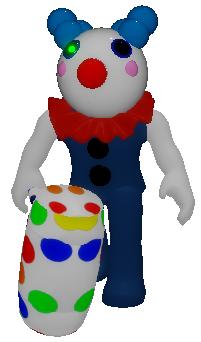 Clowny Piggy Wiki Fandom In 2020 Piggy Roblox Game Costumes