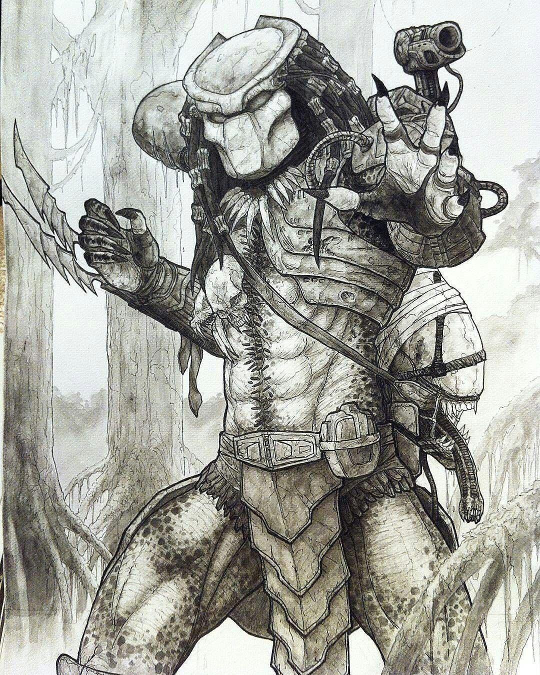 Pin de Jeff Bonin en Predator | Pinterest | Depredador, Póster y ...