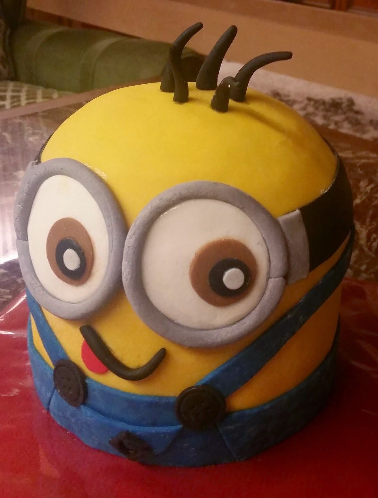 Minion Kuchen Rezept Sandy 39s Kitchendreams Minion Kuchen Minions Pinterest