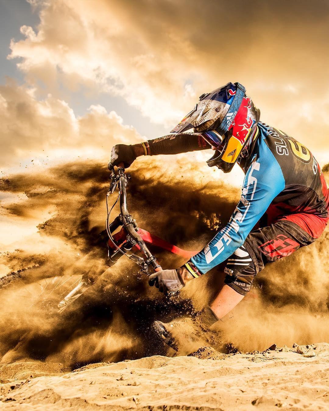 """Downhill Wallpaper: Red Bull (@redbull) En Instagram: """"Kicking Up A Storm"""