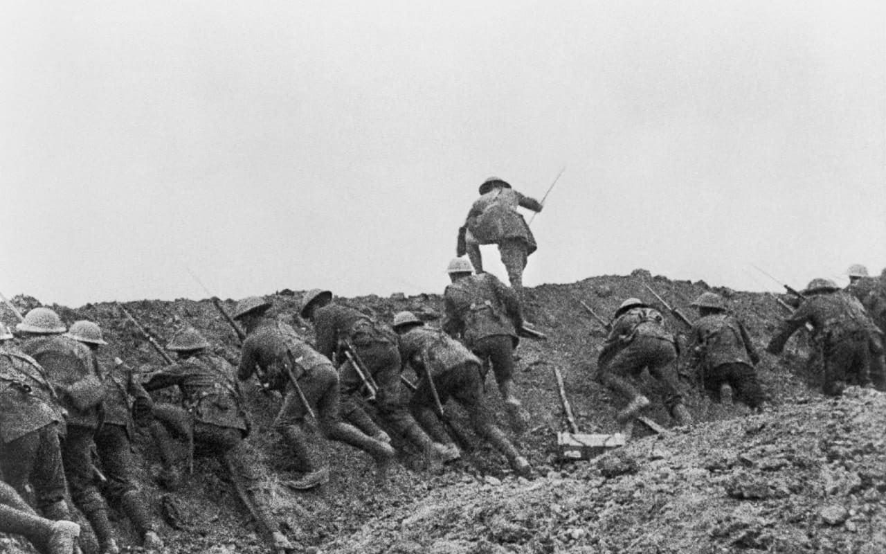 The Battle Of The Somme Was One Of The Bloodiest Battles In Human ...