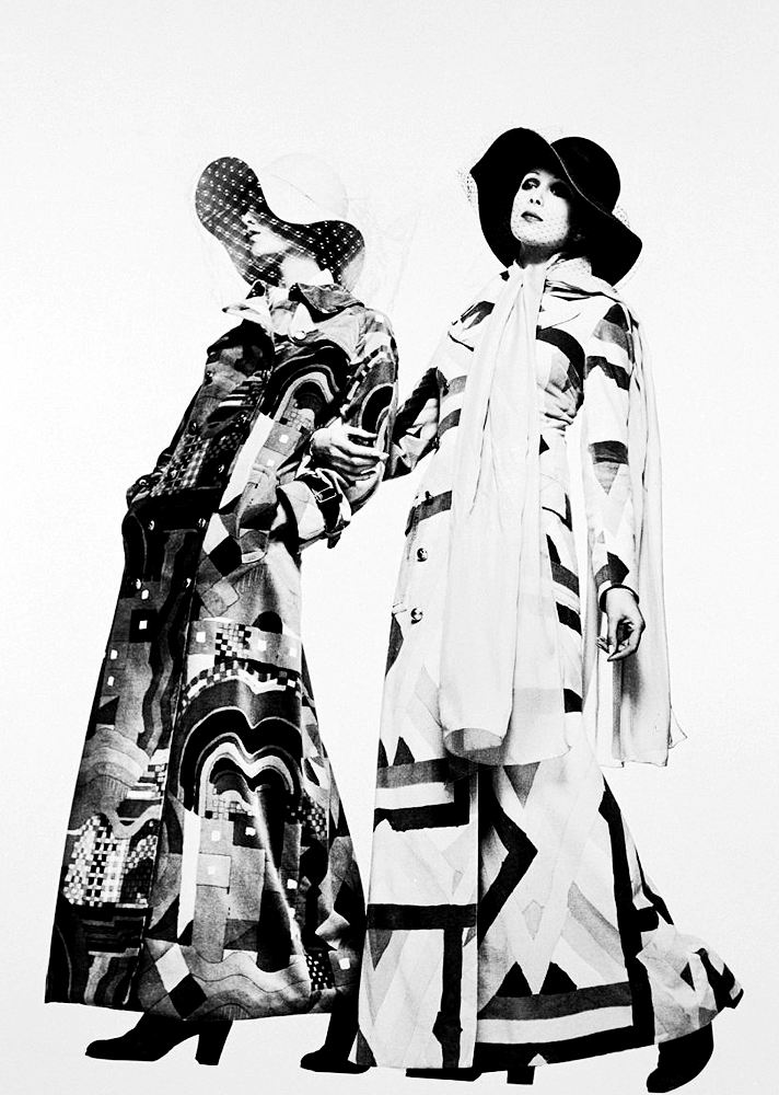 1972 Fashion Photo by Justin de Villeneuve