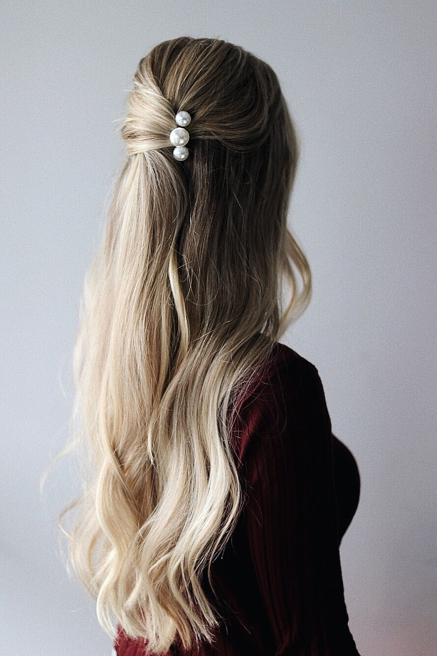 FALL HAIR TRENDS - EASY FALL HAIRSTYLES, #Easy #Fall #Hair #hairaccessories #Hairstyles #Tre...
