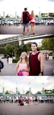 I. Would. Die....Disney Wedding Proposal
