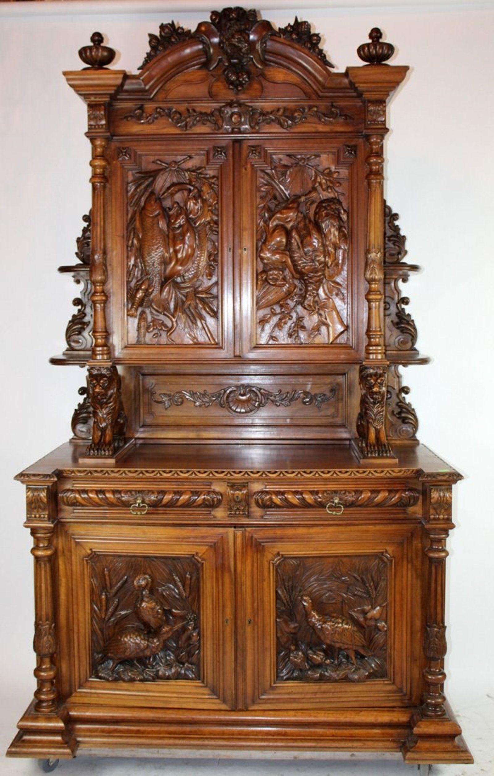 Pcs european wood carving applique furniture vintage home decor