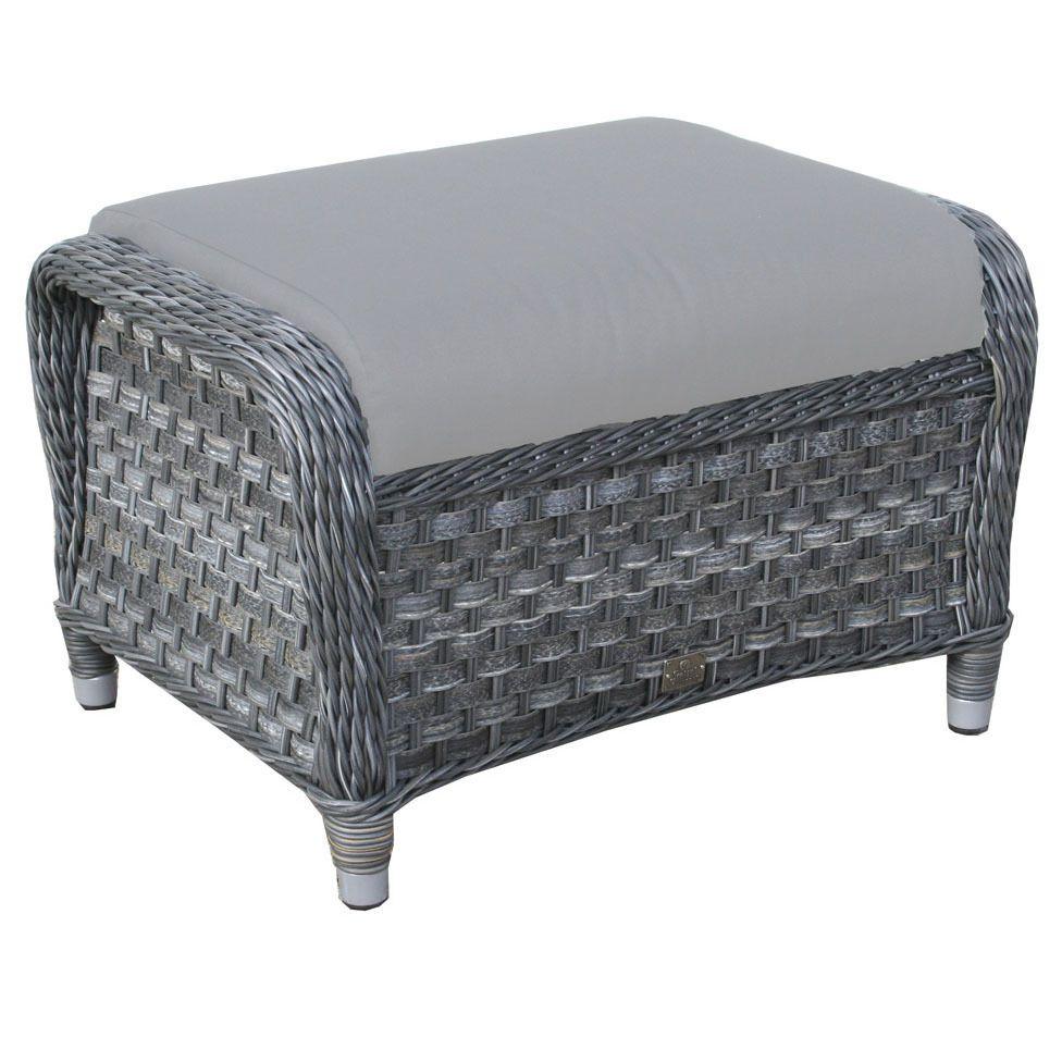 Rattan Oxford Footrest With Cushion   Garden Footstool For Outdoor  Furniture In Garden U0026 Patio, Garden U0026 Patio Furniture, Chairs