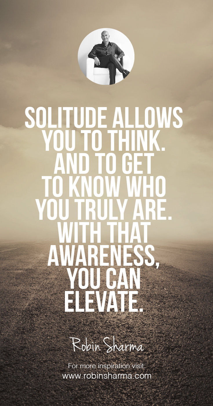 Quotes On Solitude Solitude Allows You To Thinkand To Get To Know Who You Truly Are