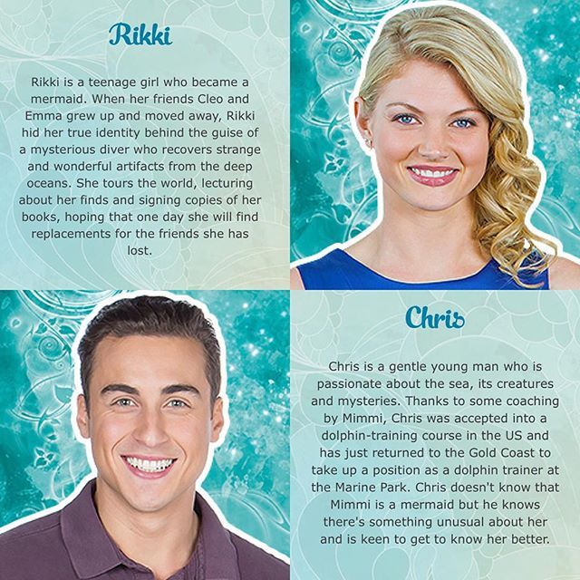Mako Mermaids Rikki And Chris Mako Mermaids H2o Mermaids
