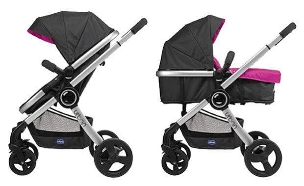 Los cochecitos de bebé convertibles, más ligeros y