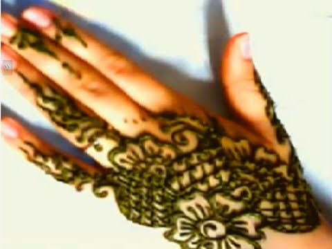 نقش بالحناء بسيط و مبتكر Henna Design Simple Mehndi Designs Henna Hand Tattoo Mehndi Simple