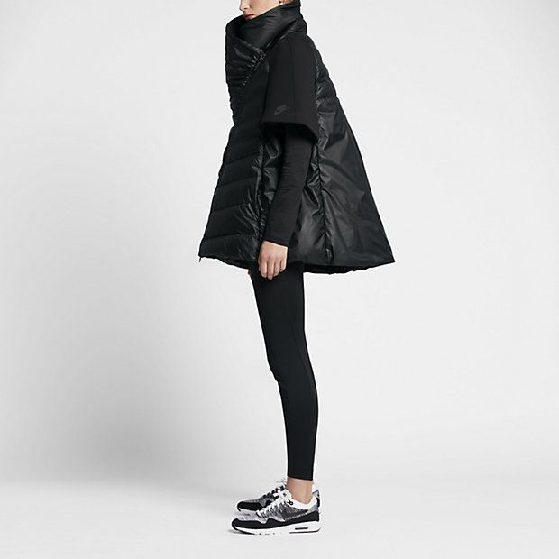 Nike Sportswear Tech Fleece AeroLoft Women's Down Cape. Sport WearCapesNike  ...