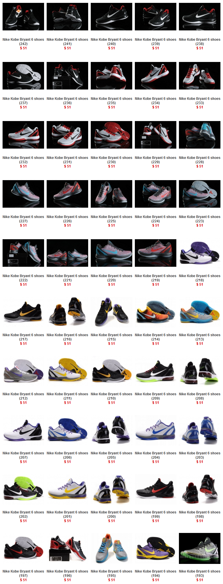 Nike Kobe Bryant 6 shoes page 1 | Nike