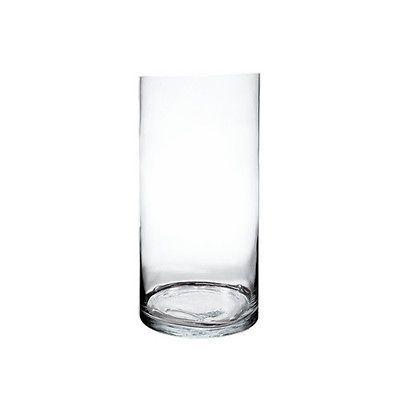 Cylinder Glass Vase Wholesale H 24 Diameter 10 Lot Of 1 Pc