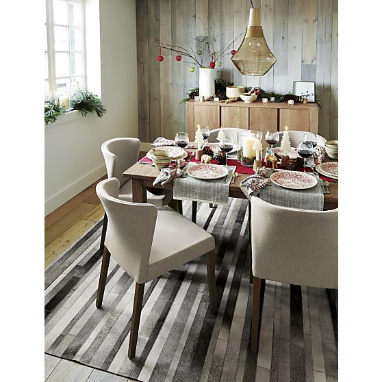 Barrel Table And Chairs For Sale: Fonda Grey 8'x10' Rug In Area Rugs