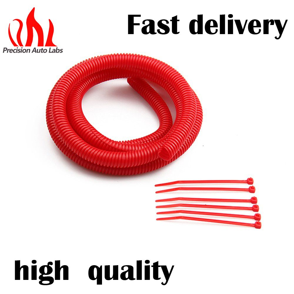 Flexible Tubing And Tie Strap Kits 4511 Convoluted Flex Wire Electrical Plastic Conduit Buy Cover 0500 In X 6 Ft Red Kit