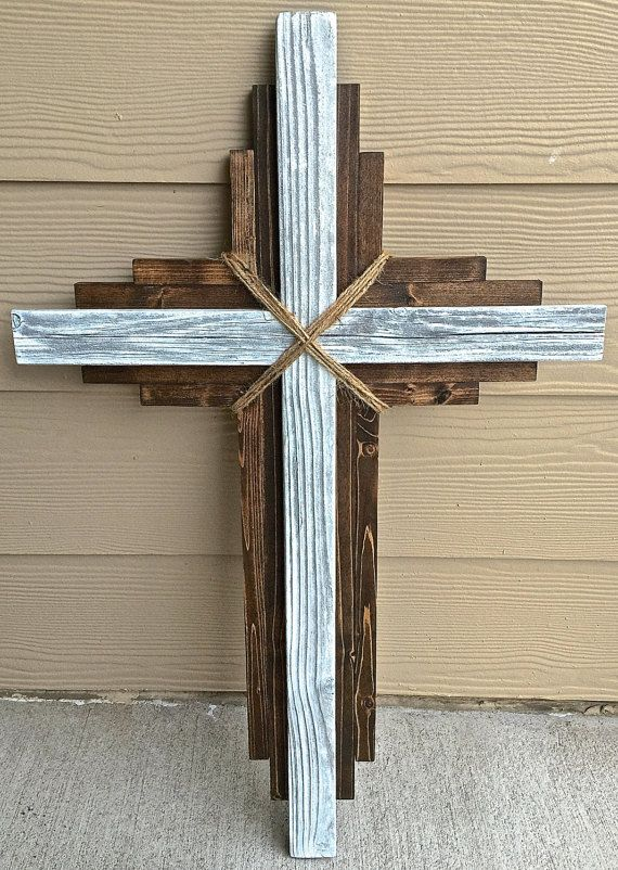 This Is A Wall Hanging Cross Is Made To Order And Includes Hanging