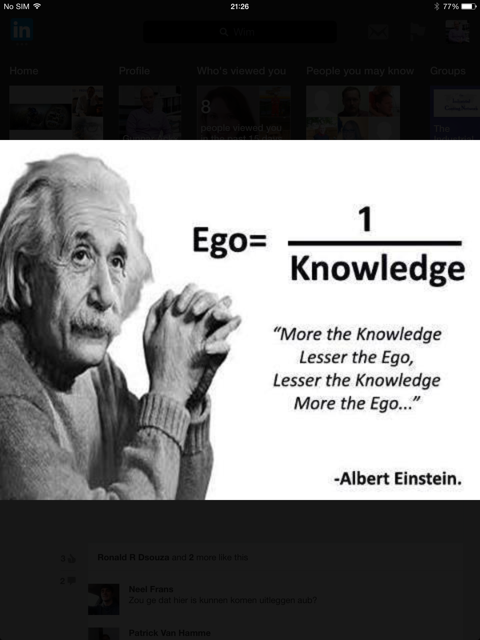 Ego 1 Knowledge Quotesvideos Good Things To See Life