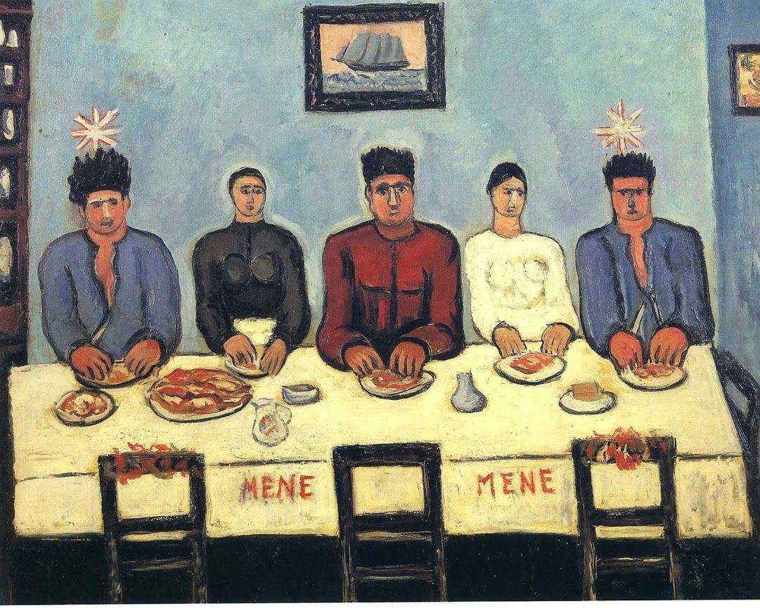 Marsden Hartley Fisherman S Last Supper 41